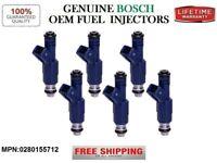 SET OF 6 BOSCH FUEL INJECTOR 0280150428 1994-1995 SAAB 900 SE 2.5L V6