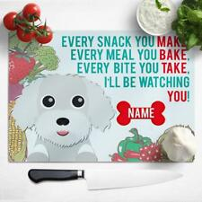 Personalised Chopping Board COW Farm Glass Kitchen Housewarming Home Gift KS45