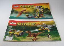 LEGO® Bauanleitung Instruction Nr. 5887 5883 Dino™ Dinosaurier Station Heft 1
