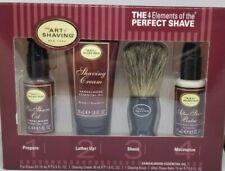 The Art of Shaving SANDALWOOD Essential Oil 4 Elements Starter Travel Kit Set
