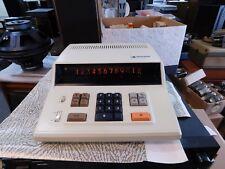 Panasonic 1200 JE-203 12-Digit Nixie Tube Calculator Works Perfectly!