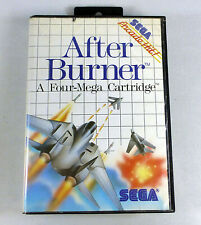 AFTER BURNER - Sega Master System SMS Complete -  Box & Manual TESTED