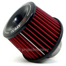 "APEXi Power Intake Dual Funnel 160mm Air Filter Universal 80mm/3.15"" Inlet JDM"