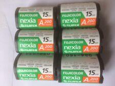 APS Film ~ Fujifilm A200 All Round ~ 6 X 15 Rolls, 90 Exposures