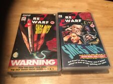 RED DWARF VHS Selection (x2)