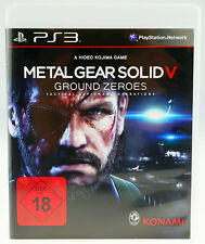 Metal Gear Solid V ground Zeroes-en OVP-Sony PlayStation 3 ps3