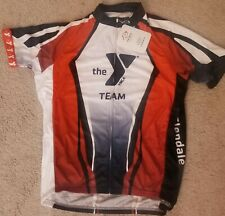 YMCA super RARE Cycling jersey Primal, size Extra Large, BRAND NEW IN A BAG