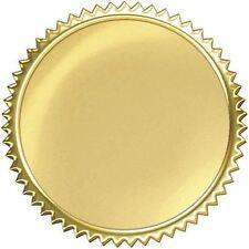 """32 TREND Gold Burst Award certificate Seals Reward Stickers 2"""""""