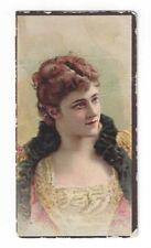 N98 Duke Tobacco Card - Albums of American Stars Series - #16 Short Red Hair