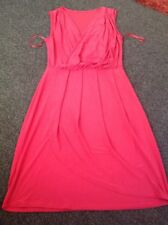 Lovely Red Wrap Over Dress From Anita And Green Size XS Fits Size 8