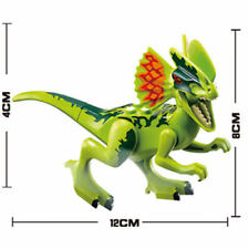 Dilophosaurus Jurassic Park World Dinosaur Building Block Mini figure lego's Fit