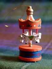 Handmade Christmas Tree Merry Go Round Carousel Traditional Bauble Decoration