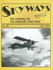 SKYWAYS 20 DORNIER Do J WAL_NAA NA-40 ATTACK BOMBER_USMC OL-6/8_DOUGLAS DC-5