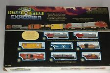 Bachmann Explorer Ready - To - Run N Scale Train Set E-Z Track System
