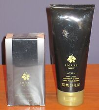 Avon Imari Elixir Perfume 1.7oz Eau De Toilette Spray & Body Lotion $31 NIB