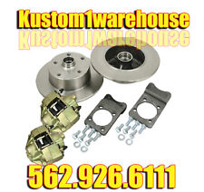 Bolt on VW Volkswagen Super Beetle front disc brake conversion kit 5x4 3/4 Chevy