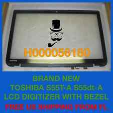 H000056180 NEW Toshiba S55t-A S55dt-A LCD Digitizer Touchscreen with Bezel