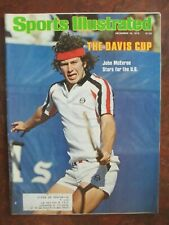 Sports Illustrated 12/18/78 John McEnroe Cover