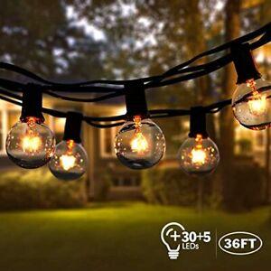 CATENA LUCI  luminosa esterno led con gancio 10M con 10 portalampade luci