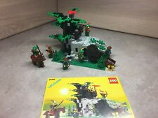 Lego Castle, 6066 Camouflaged Outpost, Robin Hood, 99.9%complete+instructions