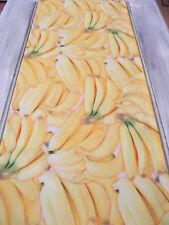 Tischläufer Banane ca. 170x40 cm Impressionen Bananen Früchte Frisches Obst
