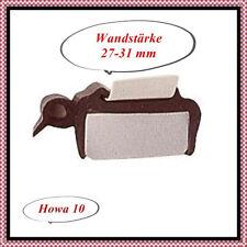 Fensterdichtung Gummiprofil für Ausstellfenster 27-31mm  Hobby LMC Dethleffs TEC