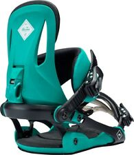 New 2018 Rome Strut Womens Snowboard Bindings Size S/M Teal