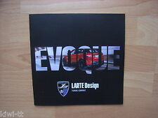 Larte DESIGN RANGE ROVER EVOQUE Prospectus/Brochure/depliant, GB