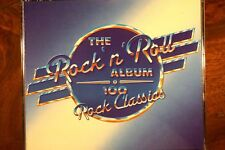 The Rock N Roll Album - 100 Rock Classics  -  (1991), 4CD AU, VG RDCD4 605 1234