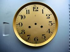 Antique German wall clock Gustav Becker Brass and metal DIAL PARTS GB Junghans