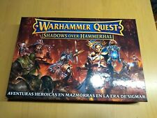Warhammer Quest Shadows over Hammerhall en CASTELLANO nuevo