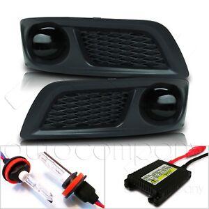 For 10-12 Subaru Legacy Fog Lights w/Wiring Kit & HID Kit - Super Smoke