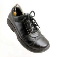 Simple Men's Black Leather Lace Up Oxford Shoes Men's Size 12