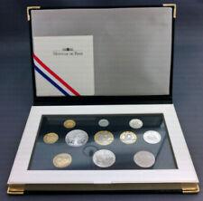 Boîtiers FDC, BU, BE de pièces de monnaie françaises 100 Francs