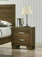 Nightstand Bed Side Table Lamp Stand Drawer Storage Modern Farmhouse Furniture