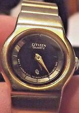 Women's Citizen Ultra Light Ultra Thin Slim Gold Watch has New Battery
