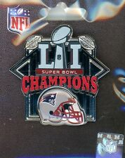 Patriots Super Bowl LI Champs Helmet Pin 51 NFL New England Champions 2017 A