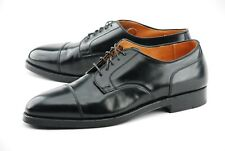 NEW   ALDEN X BROOKS BROTHERS 11.5D BLACK SHELL CORDOVAN DRESS SHOES 2161
