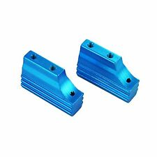 Redcat Racing Blue Aluminum Engine Mount Blocks Part # 02128B FREE US SHIP
