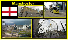 MANCHESTER - JUMBO FRIDGE MAGNET BRAND NEW
