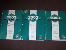 2003 GM PONTIAC GRAND PRIX Factory Service Shop Repair Workshop Manual Set OEM