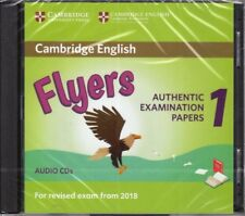 Cambridge English FLYERS 1 for Exam from 2018 Official Material AUDIO CD @New@