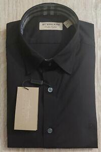 BURBERRY London Henry Men Dress Shirt Long Sleeve Cotton New Other