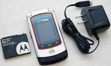 Motorola Adventure V750 VERIZON Wireless Flip Cell Phone GPS Camera Bluetooth
