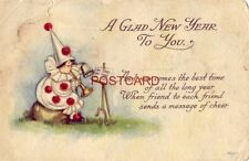 1915 A GLAD NEW YEAR TO YOU. When friend to each friend sends message of cheer
