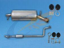 TOYOTA YARIS 1.0 16V Hatchback 1999-2005 Full exhaust from CAT