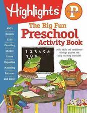 Big Fun Activity Workbooks: The Big Fun Book of Preschool Activities by...