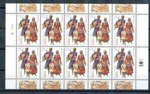 Armenia - Sheet of Stamp, Year 2001 MNH**National Costumes (Artzakh)