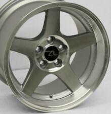 "17"" 03 Mustang Cobra Deep Dish Replica Wheels 17x9 17x10.5 5x114.3 SN95 94-04"