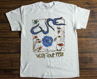 The Cure Wish Tour 1992 vtg t-shirt gildan reprint